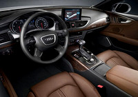 Commercial photography ~   enhancing and replacing background using: Adobe Photoshop.2011-Audi-A5-TDI-Interior