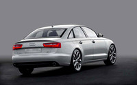 Commercial photography ~   enhancing and replacing background using: Adobe Photoshop.2011 Audi A6